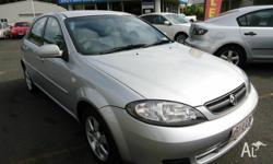 2008 Holden Viva manual , drive away no more to pay