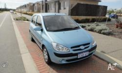 2008 Hyundai Getz, 5 door 48000kms, full service