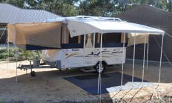 For sale is our great family camper trailer, a 2008