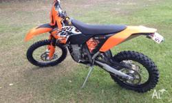 KTM 450 EXC-R 2008 Model for sale. I am the 2nd owner