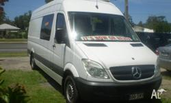 2008 MERCEDES TURBO/ DIESEL .EXTRA RELIABLE..CAMPER VAN