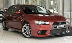 2008 Mitsubishi Lancer Evo 2.0L Turbo AWD - super low