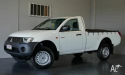 2008 Mitsubishi Triton GLX single cab ** Automatic