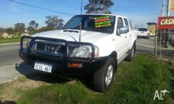 2008 Nissan Navara Features: 2.5L Turbo Diesel 4x4, 4