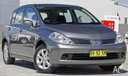 2008 Nissan Tiida C11 MY07 ST Grey 4 Speed Automatic