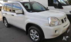 2008 Nissan X-Trail TS PETROL White 5 Speed Automatic