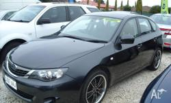 Late 2008 built MY09 - Subaru impreza hatch 5 door - MY