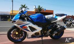 2008 SUZUKI GSX-R 1000 EXCELLENT ORIGINAL CONDITION