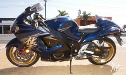 2008 SUZUKI GSX1300 HAYABUSA IMMACULATE CONDITION ONE