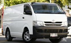 This 2008 Hiace LWB van is perfectly suited for the