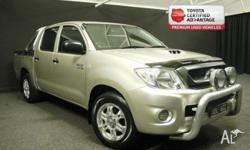 ***THE PERFECT TRADIES WORKHORSE*** 2008 TOYOTA HILUX