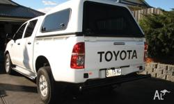 2008 4x4 Turbo Diesel Dual Cab SR. Fitted with Toyota