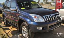 2008 Toyota Landcruiser Prado GXL PETROL Blue 4 Speed