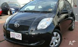 This 2008 Toyota Yaris YRS 5-Door Hatch includes