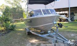 1 OWNER, Ally Craft 4.35m Family Runabout, 50hp Yamaha
