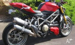 The bike was accident damaged, listed as a repairable