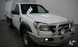 2009 Ford Ranger PK XL (4X2) White 5 Speed Manual Cab