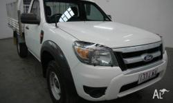 2009 Ford Ranger PK XL (4X4) White 5 Speed Manual Cab