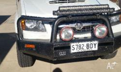 Bull Bar Spotlights Tow Bar 3 Spare Wheels and tyres