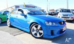 2009 Holden Commodore VE MY09.5 SS Blue 6 Speed Sports