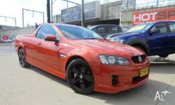 Ready For Work/Play, 2009 Holden Ute SV6 in Orange. 6