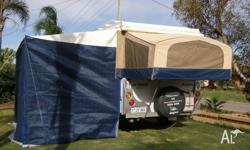 Immaculate condition 4 year old Jayco Eagle offroad
