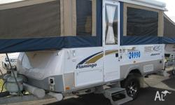 The FLAMINGO is the largest of the Jayco Camper range.