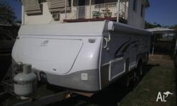 2009 Jayco Penguin outback. The camper is registered in