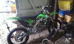 2009 kx250f 45 hours few spares with it, pro taper bars