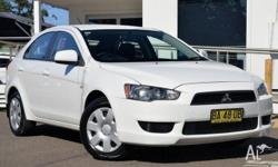 This Mitsubishi Lancer hatchback is in excellent