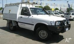 4x4 TURBO DIESEL CAB CHASSIS UTE WITH LOCKABLE WORKMATE