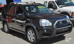 2009 Nissan X-Trail TS TURBO DIESEL Black 6 Speed