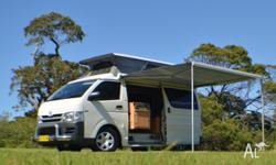 Toyota Hiace Frontline Conversion travelled only