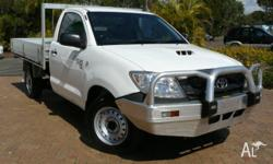 2009 TOYOTA HILUX SR 4X2. MANUAL TRANSMISSION WITH
