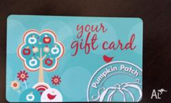 New Pumpkin Patch giftcard with $200 credit (no
