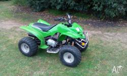 Up for sale is a 2007 Zuma 200cc quad bike it is 4