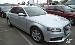 European style and performance, the Audi A4 Sedan