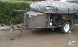 Campers Delight camper trailer, heaps of room, can