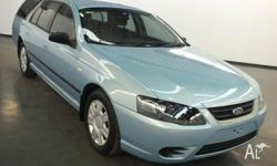 2010 Ford Falcon BF Mkiii XT (lpg) Blue 4 Speed Auto