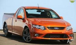 2010 Ford Falcon FG XR6 Turbo Ute Super Cab 50th