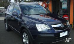 2010 HOLDEN CAPTIVA AUTOMATIC WAGON STUNNING DARK BLUE