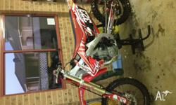 2010 honda crf great bike has been well looked after