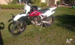 2010 Husqvarna TE 250 Xlite motor model. Electric and
