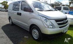 What a great find. 2010 Hyundai iLoad Auto Diesel 6