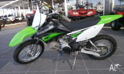 2010 KAWASAKI KLX 110 GREAT CONDITION ELECTRIC START