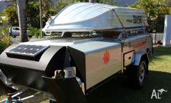 Camper includes mariners pack with boat loader &