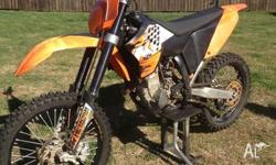 2010 KTM 250 in good condition . Approx 80 hours . Some