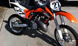 2010 KTM 250sx Awesome bike good Tryes chain and