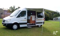 2010 MECEDES MOTORHOME ,AUTOMATIC TURBO DIESEL, LOW