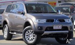 THIS 2010 MITSUBISHI CHALLENGER LS MANUAL 4X4 DIESEL
